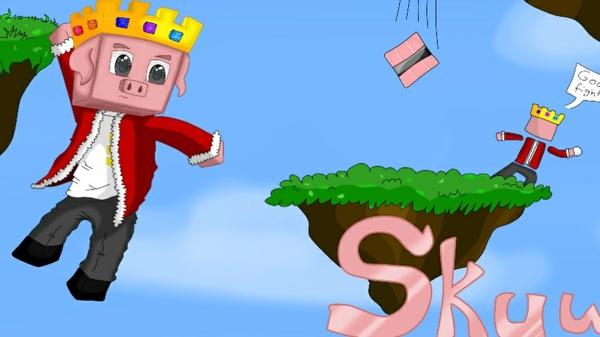 Minecraft Drawn Thumbnail