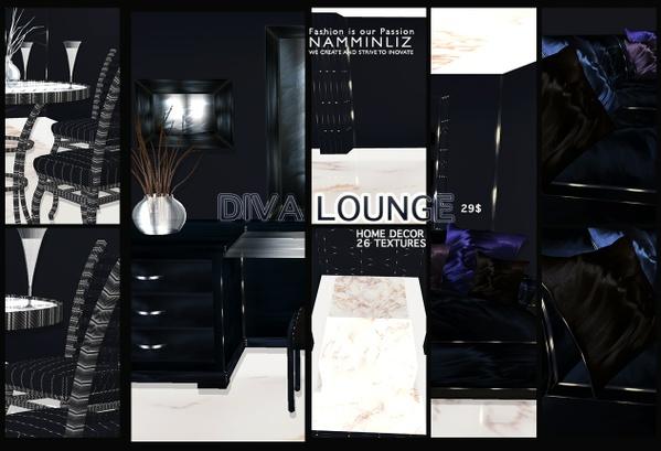 Modern Diva Lounge 26 Textures