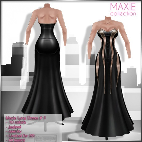 2014 Maxie Long Dress # 1