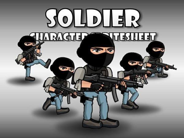 Soldier 54 SWAT Guy