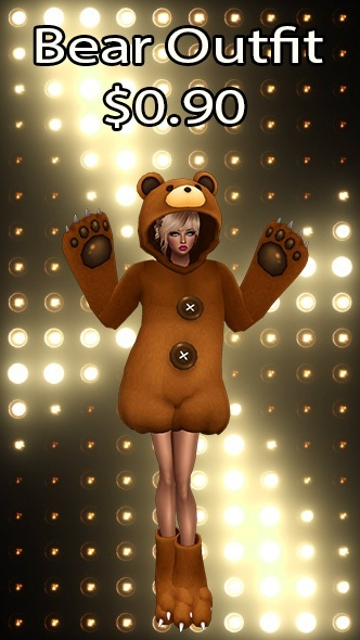 Bear Outfit v18 Texture
