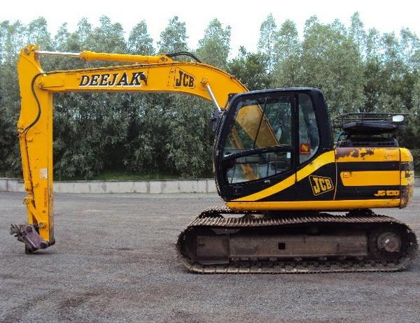 JCB JS110, JS130, JS150LC Tracked Excavator Service Repair Workshop Manual DOWNLOAD