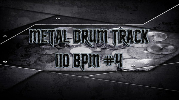 Metal Drum Track 110 BPM #4 - Preset 2.0