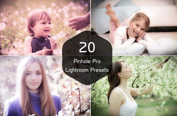 20 Pinhole Pro Lightroom Presets