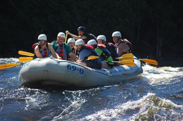 Penobscot Rafting Video 07/06/2017