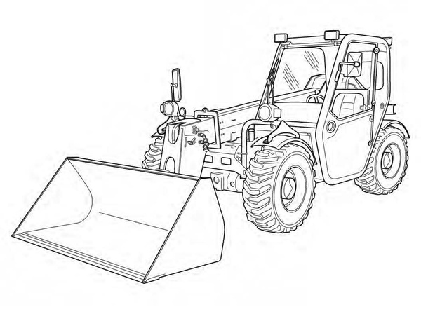 Bobcat T2250 Telescopic Handler Service Repair Manual Download(S/N AC1911000 & Above)