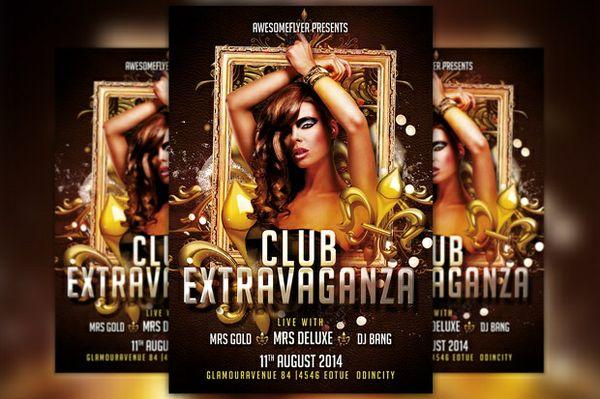 Club Extravaganza Flyer Template