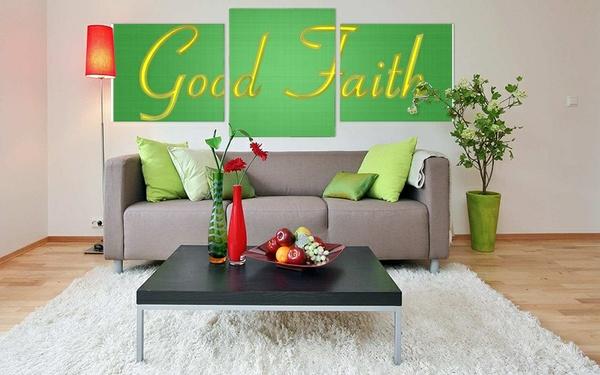 Good Faith Wall Art Decor