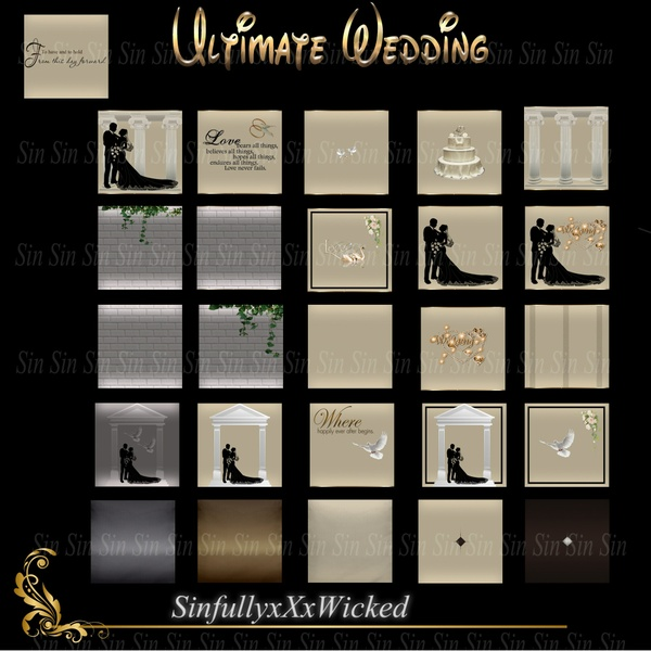 Ultimate Wedding (26 Textures)