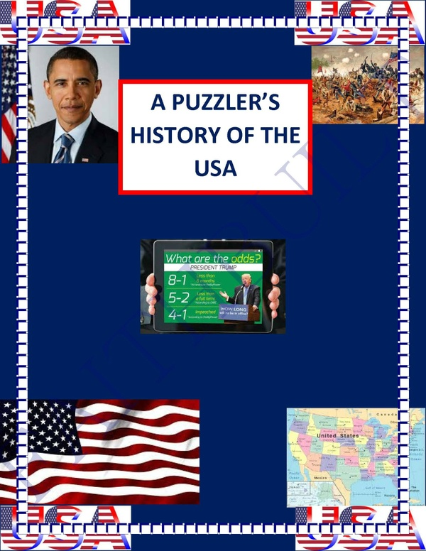 A PUZZLER'S HISTORY OF THE USA