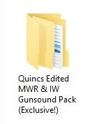 Edited MWR & IW Gunsound Pack (Best Pack)