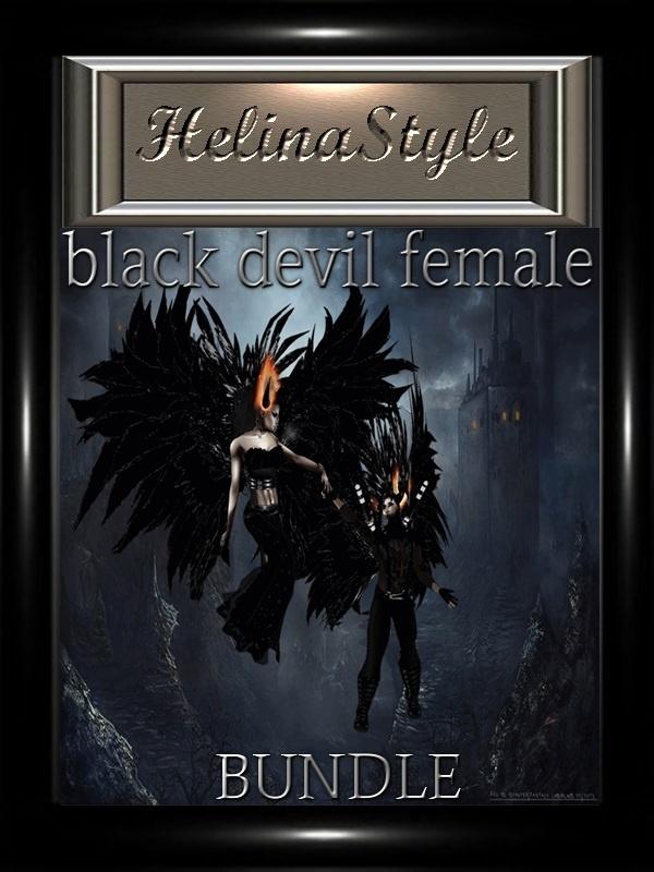 BLACK DEVIL FEMALE ( BUNDLE)