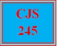 CJS 245 Week 2 Crime Causation and Diversion Presentation