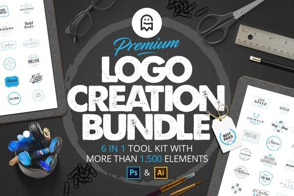 Premium Logo Creation Bundle / Collection / Deal / Sale
