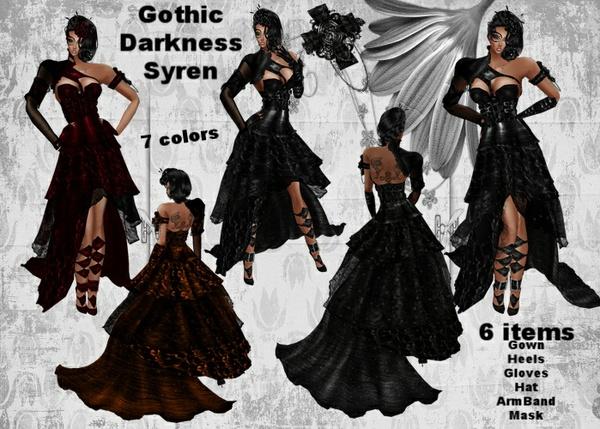 Gothic Darkness Syren