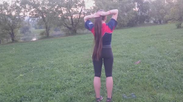 Anastasia Nesterova - Fitness Time in Park