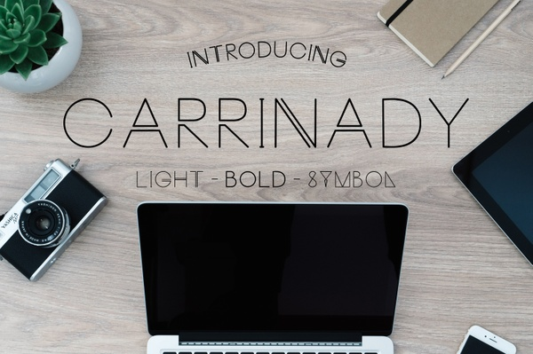 Carrinady Typeface