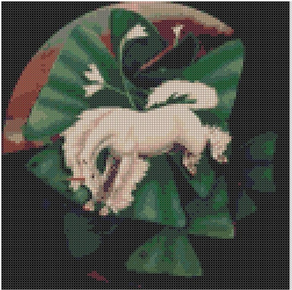 cross stitch pattern Chn-008c