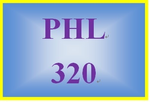 PHL 320 Week 5 Ethics and Social Responsibility