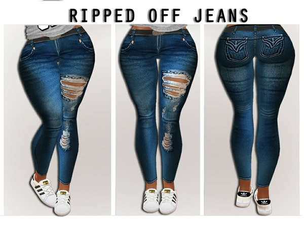 .:Ripped Jeans:.