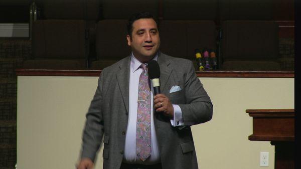 "Rev. Andre Urquidez 4-8-15pm "" God Through the Time"" MP4"