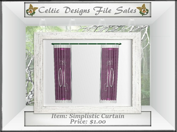 CD Simplistic Curtain