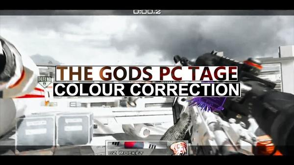 TG PC Teamtage - Colour Correction!