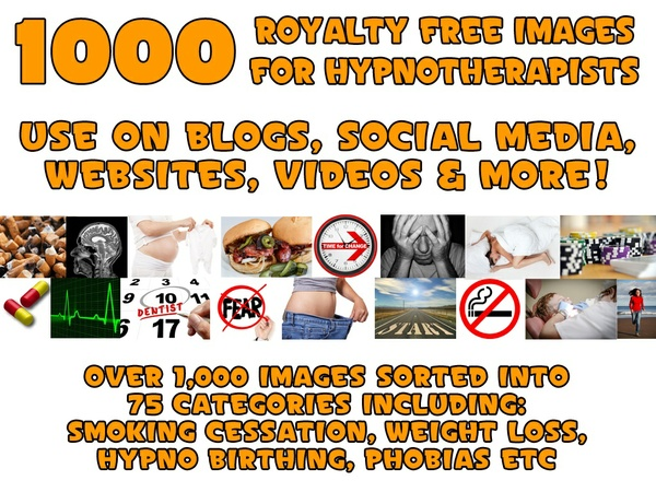 1000 Royalty Free Images for Hypnotherapists & Holistic Practioners