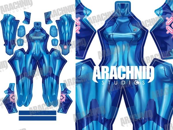 Samus Zero Suit Dye-sub pattern