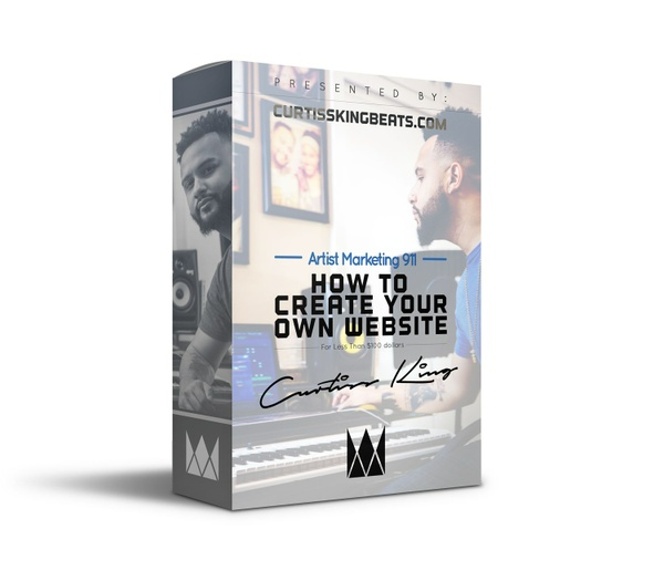 AM911: How To Create Your Own Website | CurtissKingBeats.com