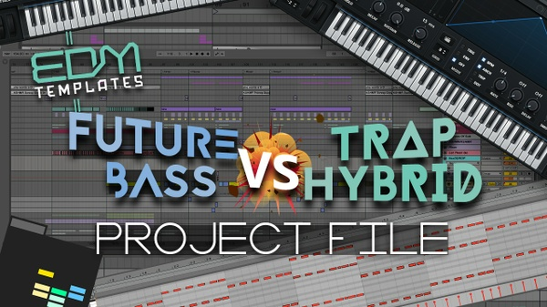 Ableton Live Future Bass - Trap Hybrid Template 09.04