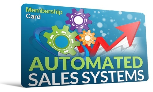 Automated Sales Systems Membership Site In A Box