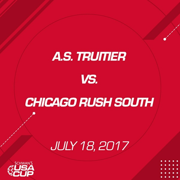 Boys U16 - July 18, 2017 - A.S. Truitier V. Chicago Rush South *Part 2
