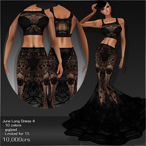 2013 Jun Long Dress # 4