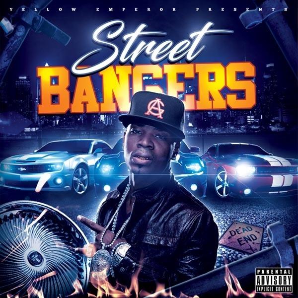 Street Bangers Mixtape Cover Template PSD