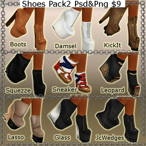 Shoes Pack 2