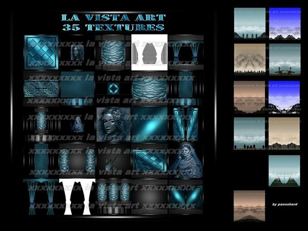 La vista art 35 textures  IMVU ROOM