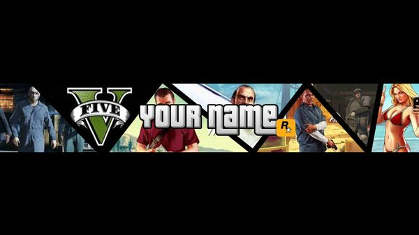 Pre-Made GTA 5 Profile Banner