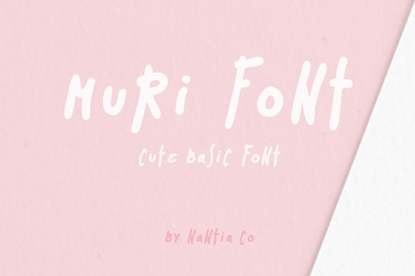Muri the Handcrafted Font
