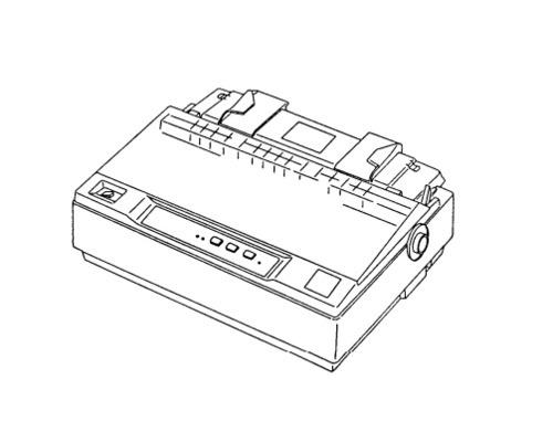 Epson LX-300 Terminal Printer Service Repair Manual
