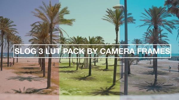 Slog3 SUMMER LUT pack by CameraFrames