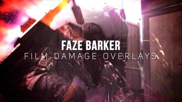 FaZe Barker Film Damage Overlays Pack