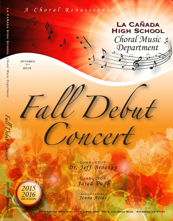 October 7, 2015 Fall Debut Concert
