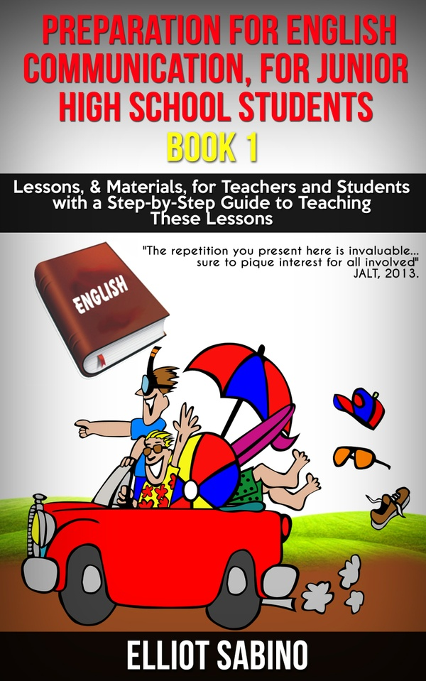 Free Preview Copy, Preparation for English Communication, for Junior High School Students, Book 1.