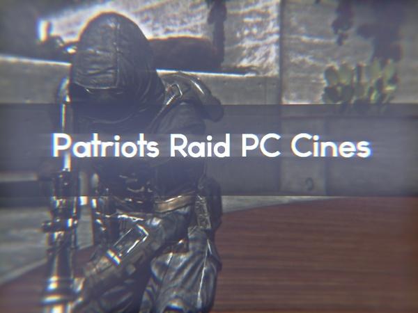 17 Raid PC Cines (60fps,.1timescalew/ cfg added)!
