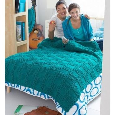 Garter Blocks Blanket
