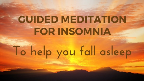 GUIDED MEDITATION FOR INSOMNIA to help you fall asleep