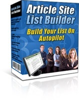 Article Site List Builder Including Master Resell Right