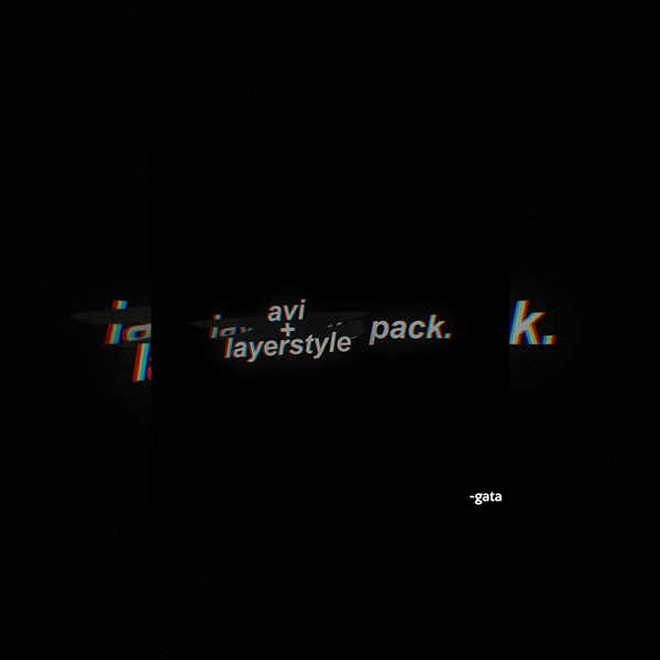 layerstyle pack by gata (+ avi psds & tips)
