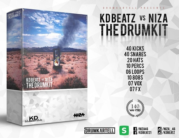 KDBEATZ vs. NIZA - THE DRUMKIT